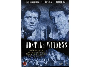 HOSTILE WITNESS - Sam Waterston - Rättegångsfilm / DVD - Lund - HOSTILE WITNESS - Sam Waterston - Rättegångsfilm / DVD - Lund