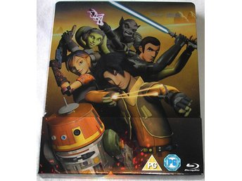 Star Wars: Rebels - Säsong 1 (Blu-ray) (STEELBOOK) *HELT NY*