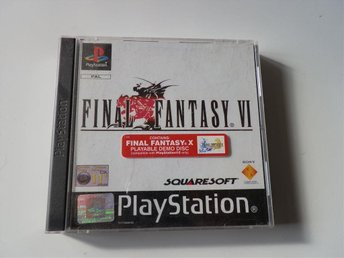 - FINAL FANTASY VI (6) - PSone - PAL - KOMPLETT -