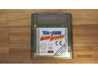 TOM AND JERRY MOUSE ATTACKS till Game Boy Color GBC