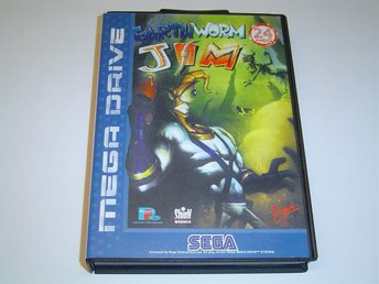 Earth Worm Jim Sega Megadrive PAL *NYTT*