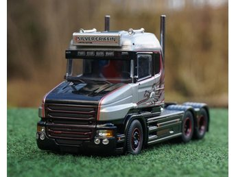 "TEKNO  SCANIA  T6  HIGHLINE  6X2  "" SILVER GRIFFIN """