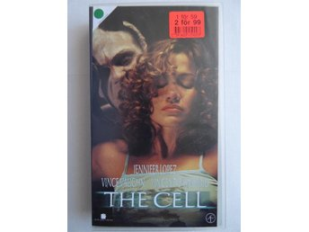 VHS film - The Cell - Jennifer Lopez / Vince Vaughn / Vincent D'Onofrio