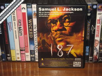 187 - Samuel L Jackson, John Heard *UTGÅNGEN DVD* - Svenskt text - åmål - 187 - Samuel L Jackson, John Heard *UTGÅNGEN DVD* - Svenskt text - åmål