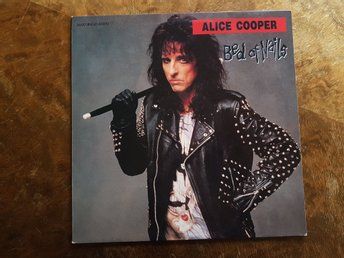 Maxi Single-45RPM Alice Cooper Bed of Nails
