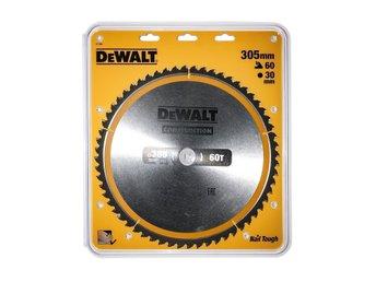 Dewalt sågklinga 305mm, 60 tänder DT1960 - Lidingö - Dewalt sågklinga 305mm, 60 tänder DT1960 - Lidingö