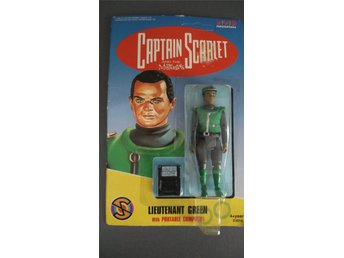 Captain Scarlet and the mysterons leksaksfigur - Lieutenant Green
