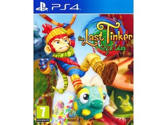 Last Tinker City of Colors PS4 (PS4)