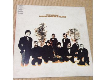 Blood, Sweat & Tears - The Great () Japanpressning LP g34