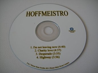 HOFFMAESTRO I'm not leaving now PROMO CD SAMPLER RARITET