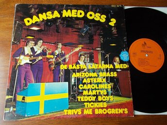 V/A Dansa med oss 2, LP Arizona Brass Asterix Martys Tickies Brogrens Teddy Boys