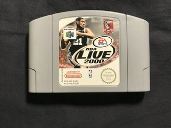 NBA LIVE 2000 NINTENDO 64 EA SPORTS