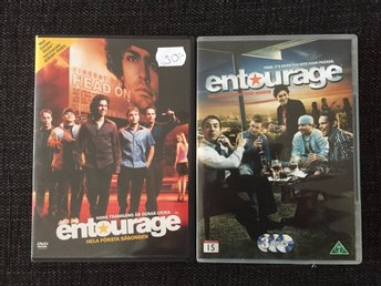 ENTOURAGE - Hela första säsongen & ENTOURAGE - The complete second season