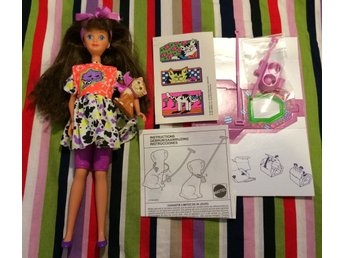 Barbie Skipper Courtney pet pals katt