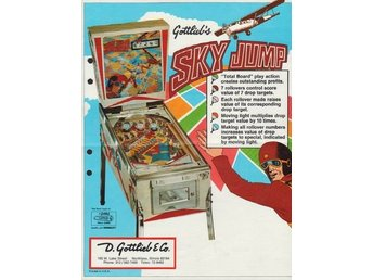 Original flyer Gottlieb SKY JUMP