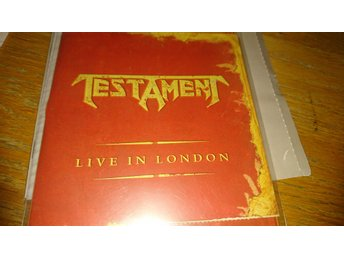 Testament - Live in London CD