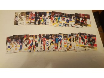 Hockeykort hockeybilder 80 st 95-96 fleer ultra Gold medallion serien