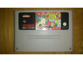 Super Nintendo/SNES: Krusty's Krustys Super Fun House (SCN)