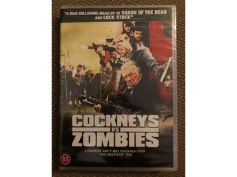 Cockneys vs Zombies (2012) inplastad