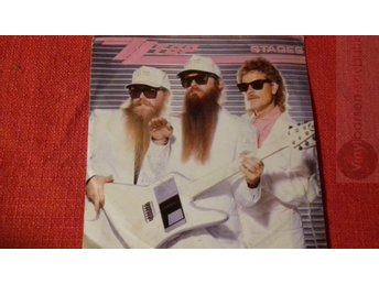 ZZ TOP   STAGES Vinylborsen-skivbutik