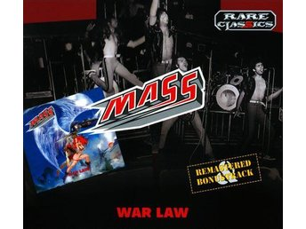 MASS-War Law-Ny Digi CD Remastered+Bonus Track-Heavy Metal! - Västerås - MASS-War Law-Ny Digi CD Remastered+Bonus Track-Heavy Metal! - Västerås