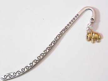 Elefant bokmärke / Elephant bookmark