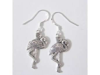 Flamingo örhängen / Flamingo earrings