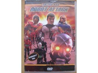 DVD film Barn filmer - Barnfilm - Action Man Robot attack svenskt tal - Uddevalla - DVD film Barn filmer - Barnfilm - Action Man Robot attack svenskt tal - Uddevalla