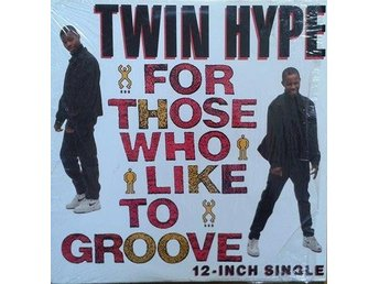 "Twin Hype title* For Those Who Like To Groove* House, Hip-House 12"" US"
