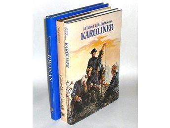 3 Böcker: Karoliner & Gustav Vasa och hans folk & Regalskeppet Kronan : Åberg Al - Hok - 3 Böcker: Karoliner & Gustav Vasa och hans folk & Regalskeppet Kronan : Åberg Al - Hok