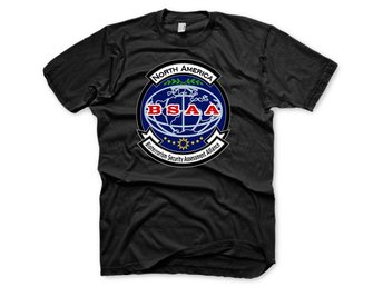 Resident Evil BSAA Bioterrorism Security Assassment Alliance T-Shirt Small