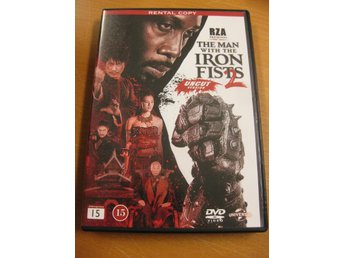 THE MAN WITH THE IRON FISTS 2 - UNCUT VERSION - DVD