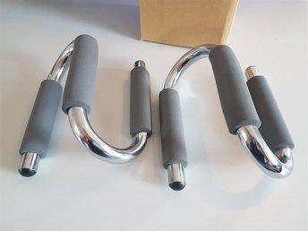 Fabriksnye Push-up bars, handtag för armhävningar, nytt i .. (300634385) ᐈ KG-64