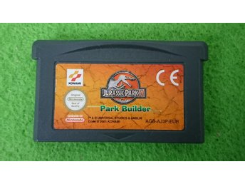 Jurassic Park Park Builder Gameboy Advance Nintendo GBA