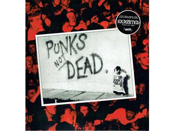 THE EXPLOITED - PUNKS NOT DEAD. LP