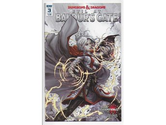 Dungeons & Dragons: Evil at Baldur's Gate # 3 Cover B NM Ny Import