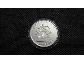 Isle of Man Crown 1999 Sydney OS