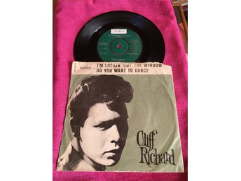Cliff Richard - I'm lockin out the window / Do you wont to dance  ... singel