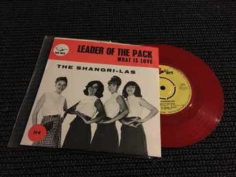 SI THE SHANGRI-LAS LEADER OF THE PACK RED BIRD SE PS