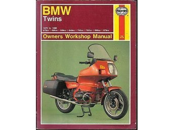 Verkstadsbok BMW Twins 1970-1990 Haynes Workshop Service Manual