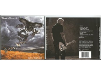 DAVID GILMOUR (PINK FLOYD) 	Rattle That Lock (CD 2015)