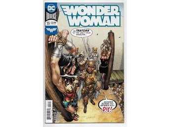 Wonder Woman 5th Series # 55 NM Ny Import