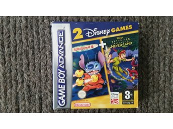 Lilo And Stitch 2  / Peter Pan - Return to Neverland - Nintendo  Gameboy Advance