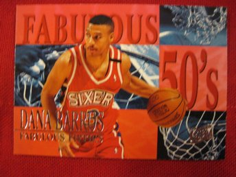 DANA BARROS -  FABULOUS FIFTIES - FLEER ULTRA 1995-96  - BASKET