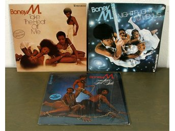 Boney M Take the heat off me, Nightflight to Venus, Love for sale, boonoonoonoos