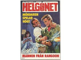 Helgonet 1984 Nr 10 VF- Litet Klotter - Vikingstad - Helgonet 1984 Nr 10 VF- Litet Klotter - Vikingstad