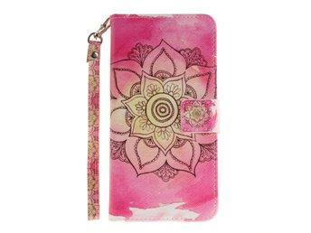 Plånboksfodral iPhone 7 Plus - Henna Lotus - Norsborg - Plånboksfodral iPhone 7 Plus - Henna Lotus - Norsborg