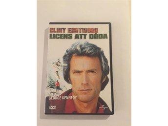 Dvd: Licens att döda - Clint Eastwood - Kallinge - Dvd: Licens att döda - Clint Eastwood - Kallinge