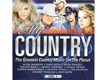 My Country, Vol 1 - Olika artister Taylor Swift, Alan Jackson, Toby Keith - CD