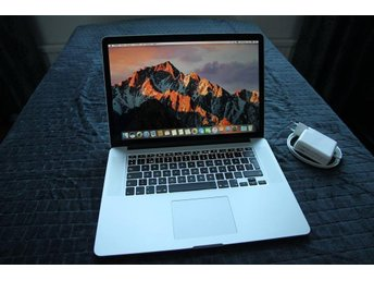 "Apple Macbook Pro Retina 15"" Intel i7 Quadcore - 256GB SSD"